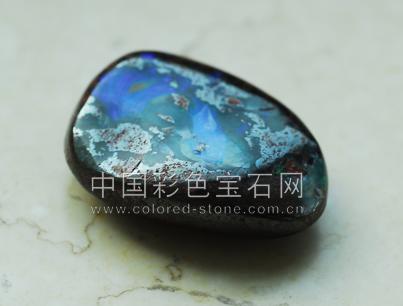 母岩欧泊,opal,澳大利亚
